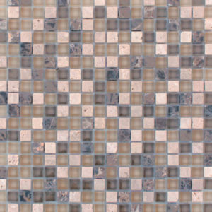 Dream Libra Mini Squares Mixed Material Mosaic