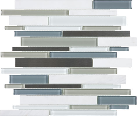 Stainless blend Nordic Storm mosaic