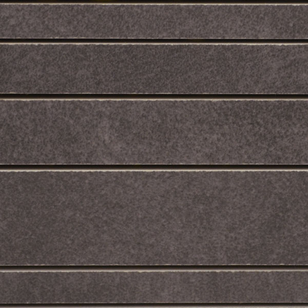 Modern Charcoal Random Strip Porcelain Tile Mosaic