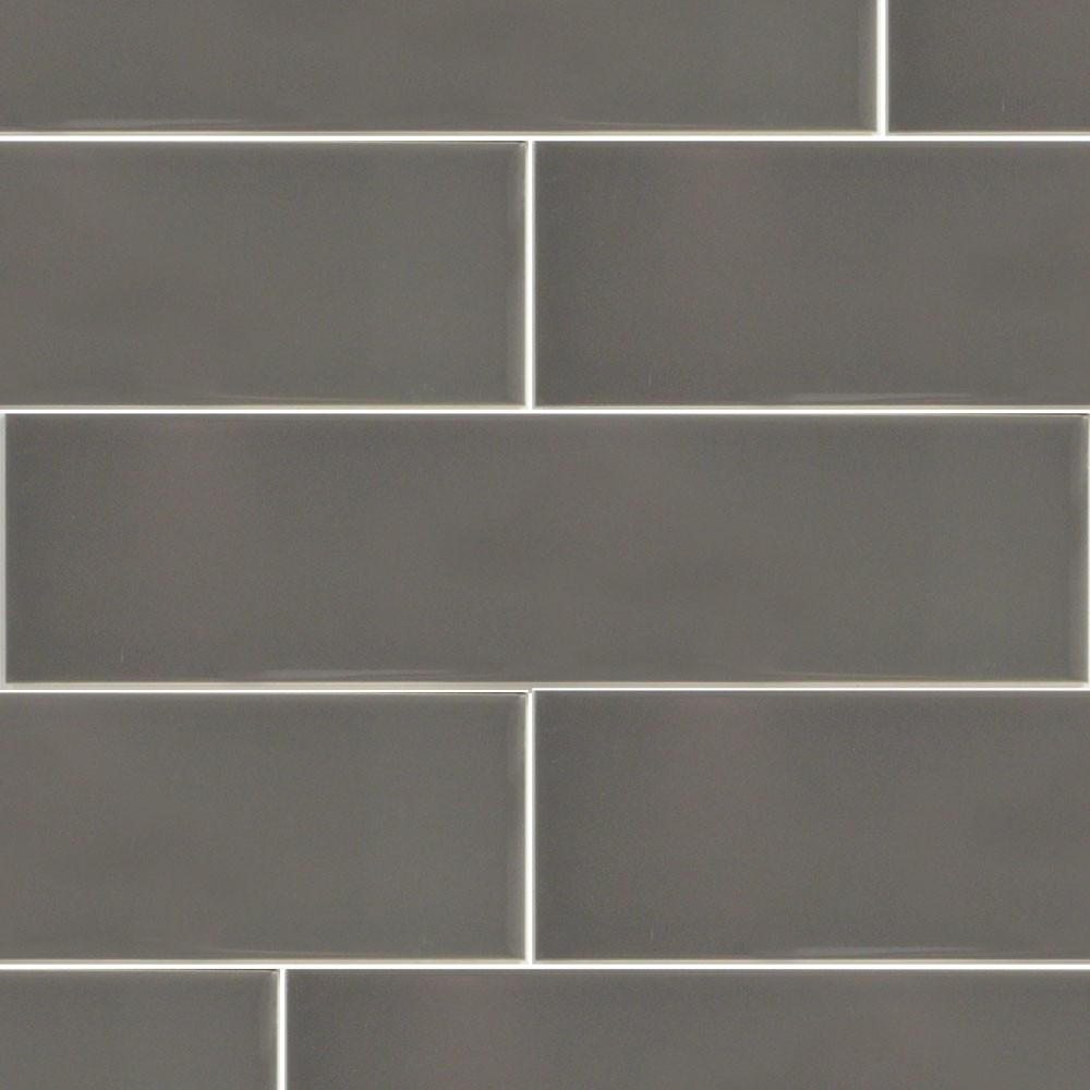 Simplistic Dark Grey Ceramic Subway Tile Tile Stone Source