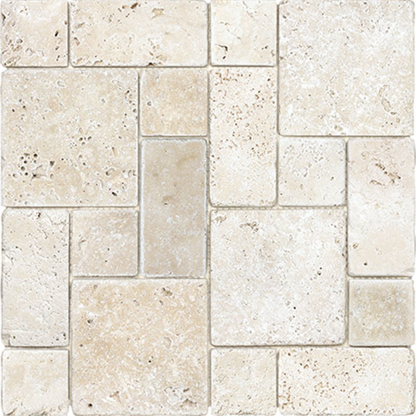 Ivory Travertine French Random