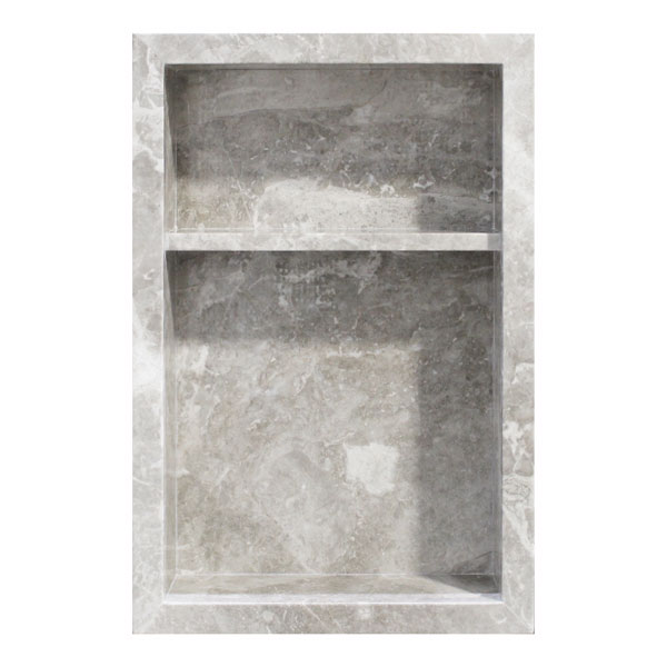 Silver Shadow Niche 13x20 Inch Tile Stone Source