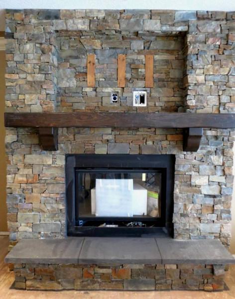 Mason montana ledgestone tile stone source montana ledgestone installed on a fireplace surround teraionfo