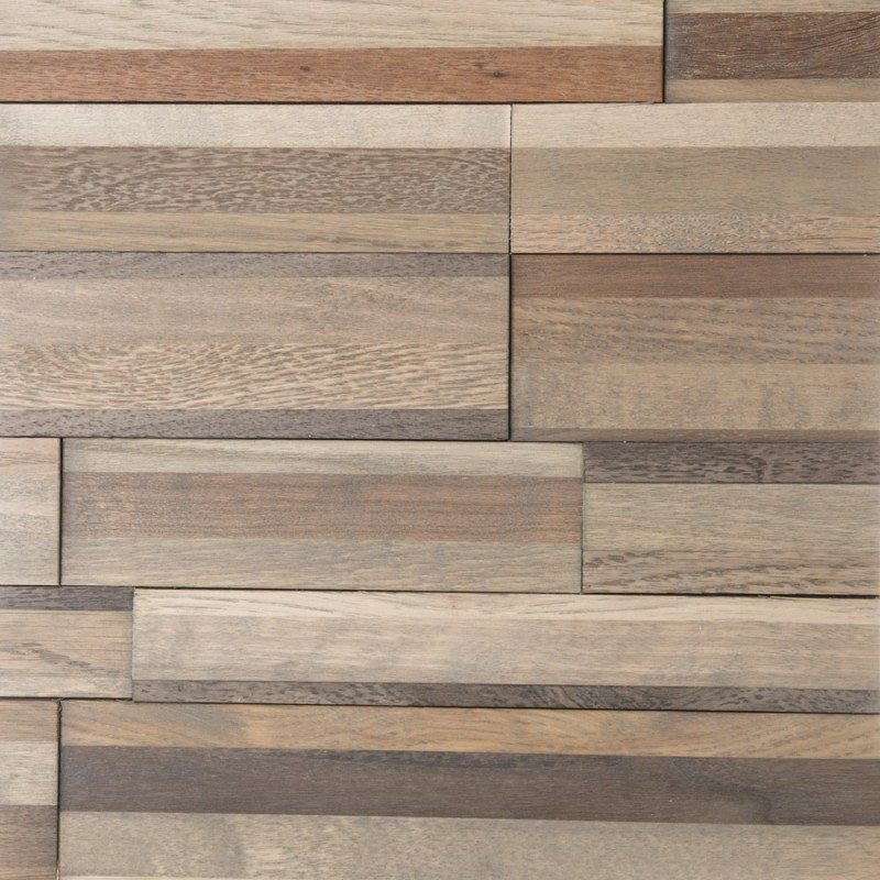 Ecolo San Francisco 3D Wood Wall Panelling