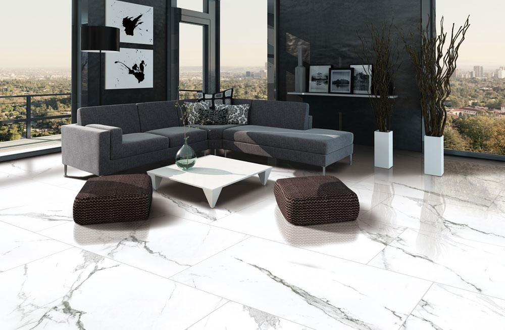 Marble Imitation Statuario 12x24 Polished Tile Stone Source