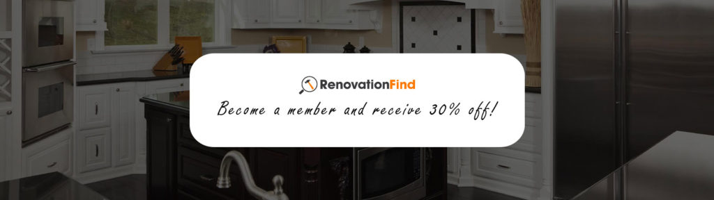 Renovation Find. Become a Member and receive 30% off!