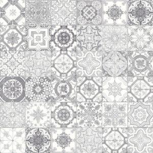 Marrakesh Grey Mix Matte Ceramic Tile