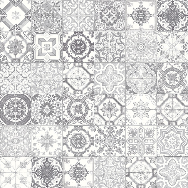 Marrakesh Grey Mix Matte Ceramic Tile