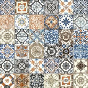 Marrakesh Color Mix Glossy ceramic tile