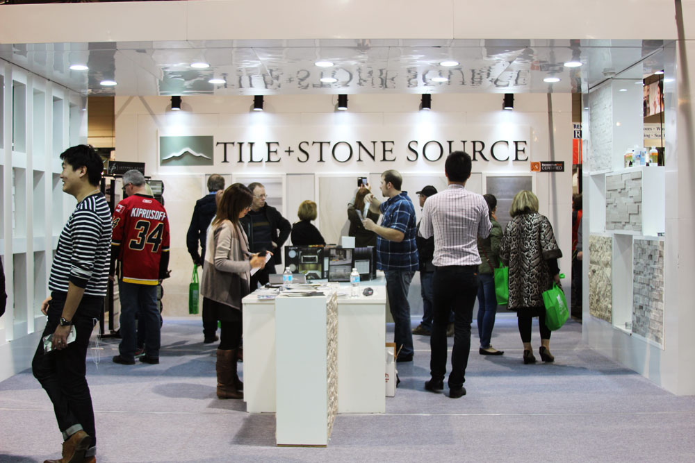 Join us at the Calgary Home + Design Show - Tile Stone Source Home Design Show on office show, home delivery show, technology show, home art show, home light show, lighting show, crafts show, home show giveaways, food show, jewelry show, home repair show,