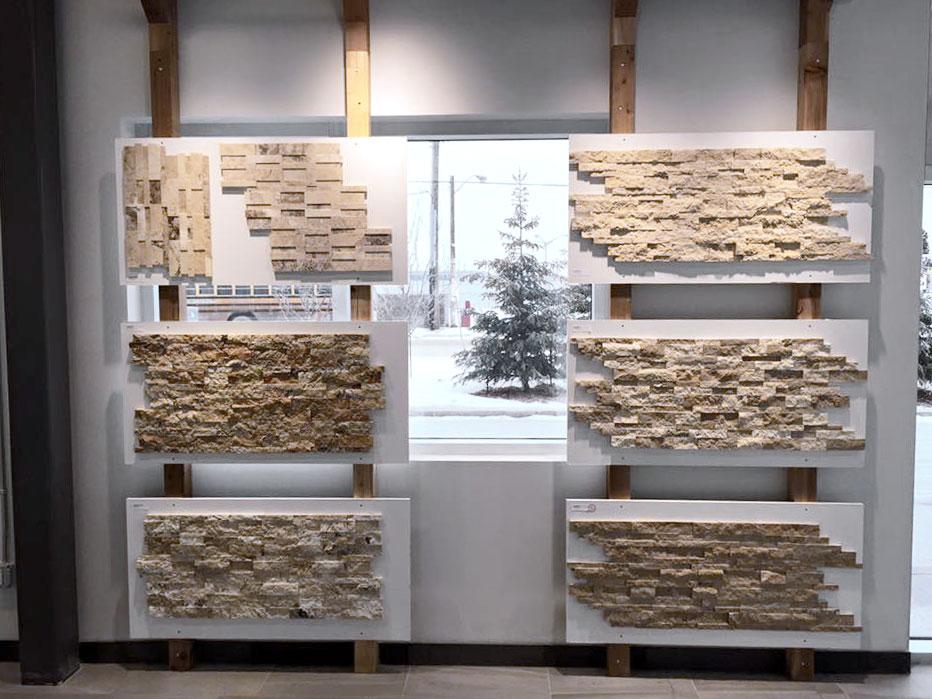 Edmonton Ledgestone Display Tile Stone Source