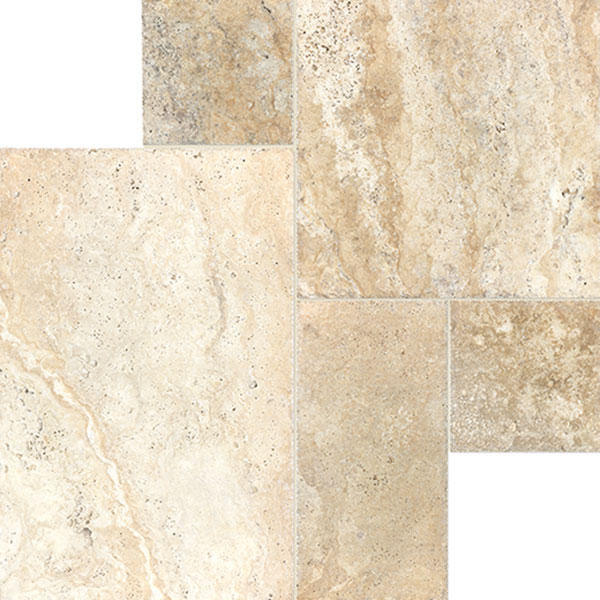 Picasso Cobblestone Brushed and Chiseled Bundle