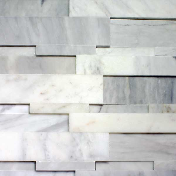 Bianco Cobalt Cubic Ledgestone