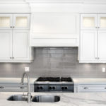 Soho Taupe Ceramic Tile Backsplash