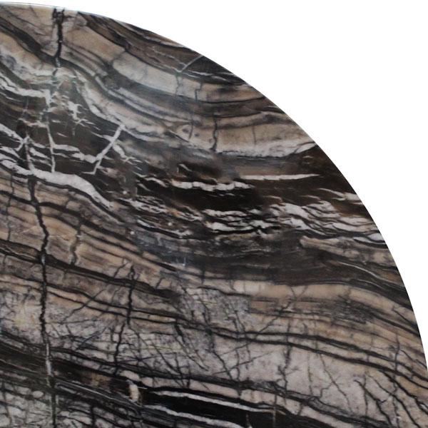 Ancient Woodgrain Marble Corner Shelf