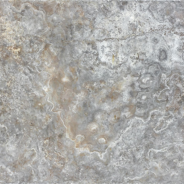 Silver 12x12 Travertine Tile
