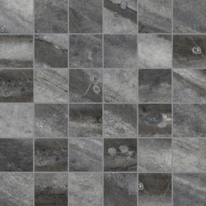 Evolution Carbon 2x2 Porcelain Mosaic