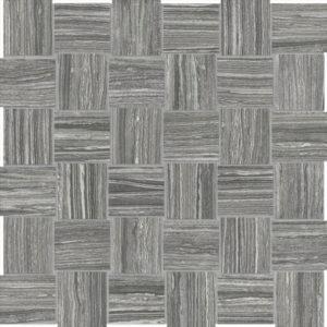 Eramosa Carbon 2x2 Basketweave Mosaic