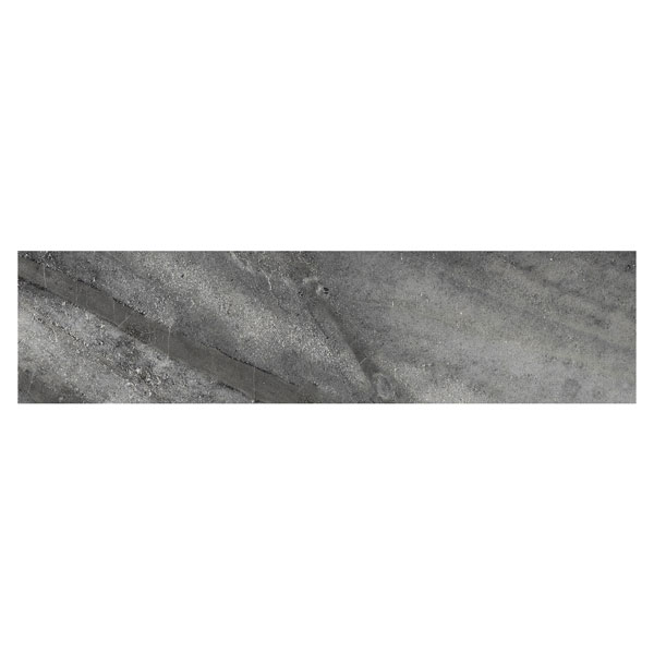 Evolution Carbon Porcelain Bullnose Tile
