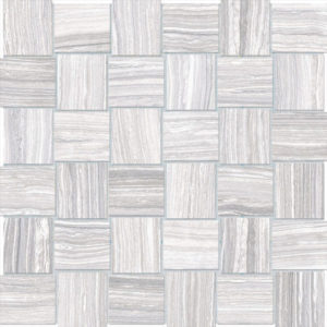 Eramosa Ice 2x2 Basketweave Porcelain Mosaic