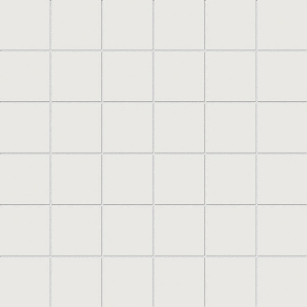 Prima True White 2x2 Porcelain Mosaic