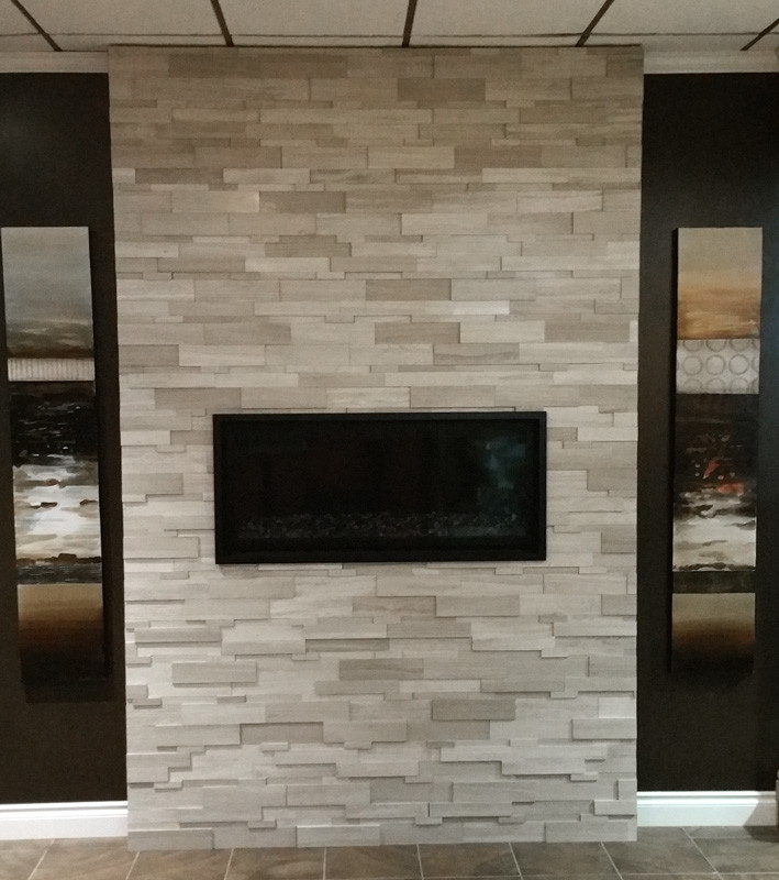 Marble Ledgestone Wooden White Cubic 6x24 Tile Stone Source
