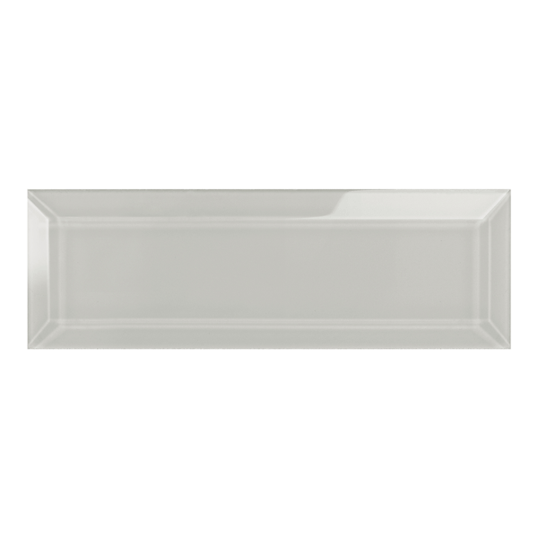 Element Mist Beveled Glass Subway Tile