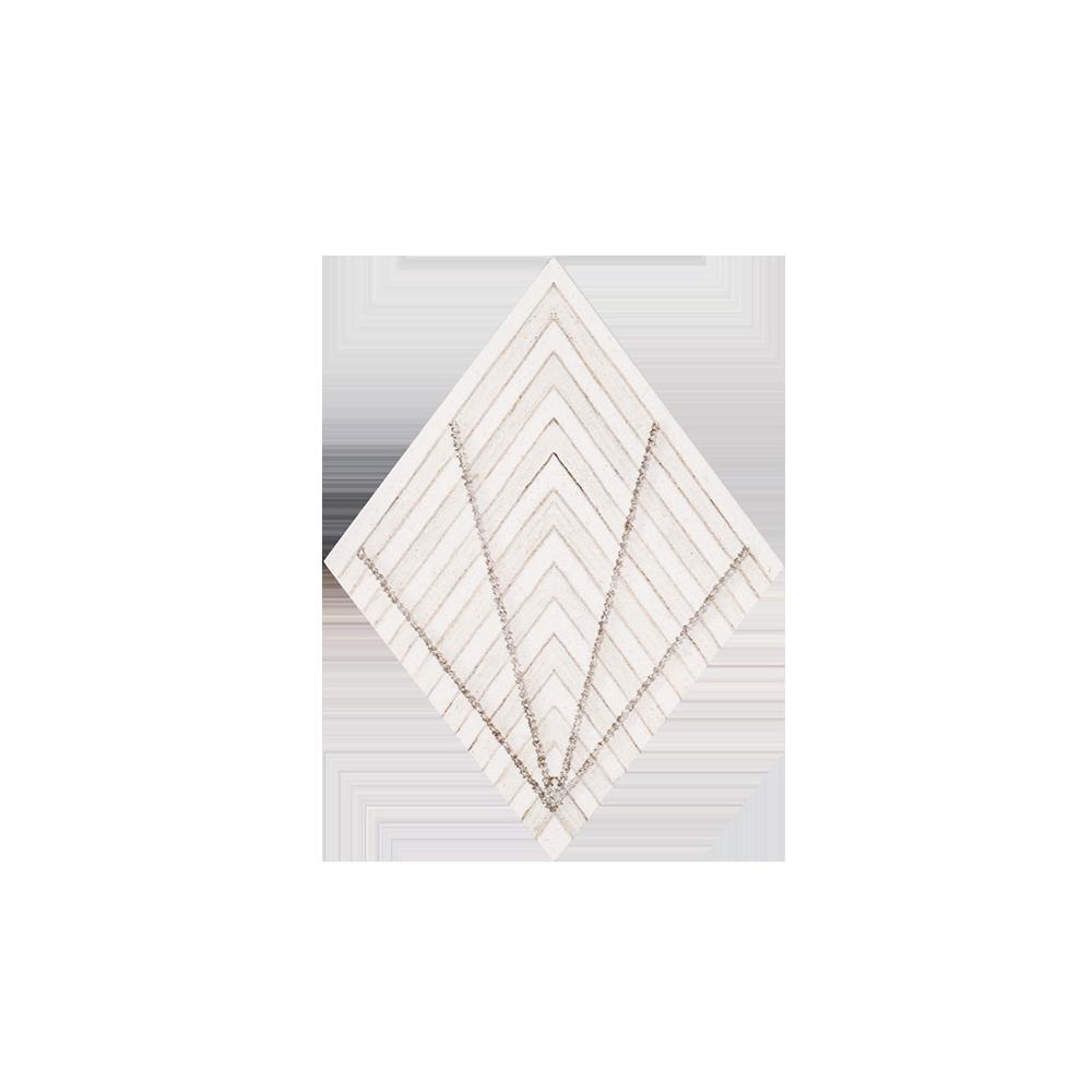 """Diamond 6"""" x 7.9375"""" - Graph - Drawn Stone - 7.9375 x 6 - (11960)"""