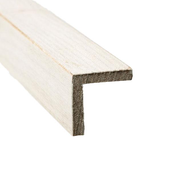 Evolution Alb Corner Moulding for Wood Wall Panels