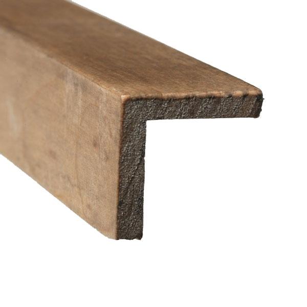 Evolution Cinza Corner Moulding for Wood Wall Panels