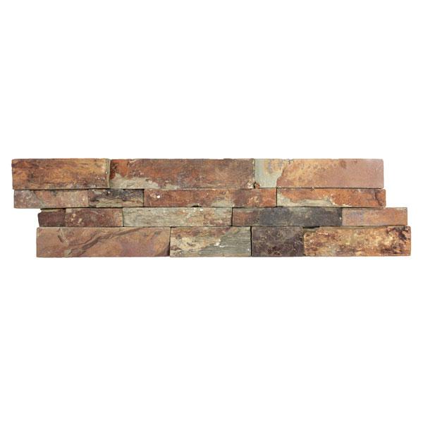 Rustic Earth Slate Ledgestone Panel
