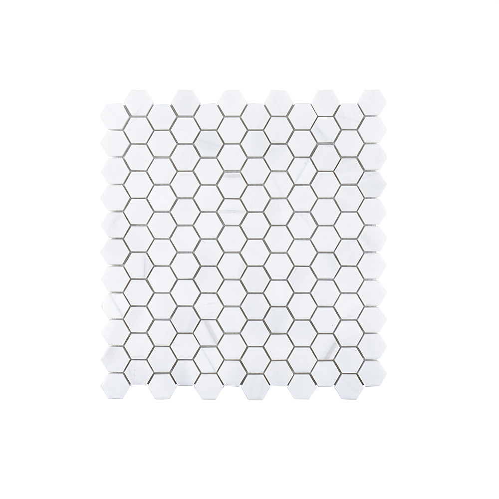 "Jeffrey Court 1"" Hexagon Mosaic - Dolomite"