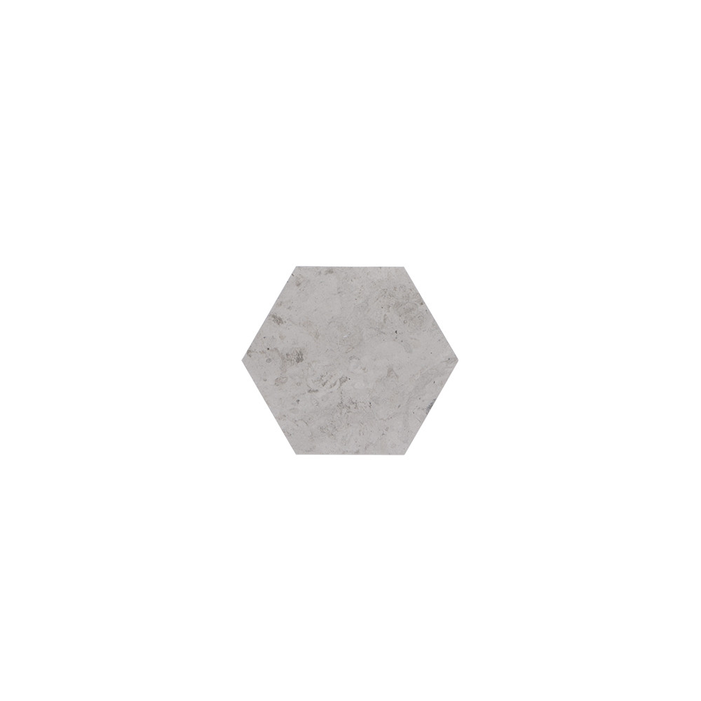 Jeffrey Court 6x6 Hexagon Field Tile - Tunisian Grey