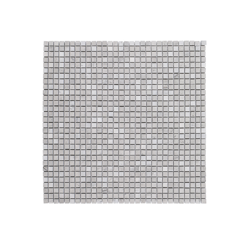 "Jeffrey Court 3/8"" Composition Mosaic - Tunisian Grey"