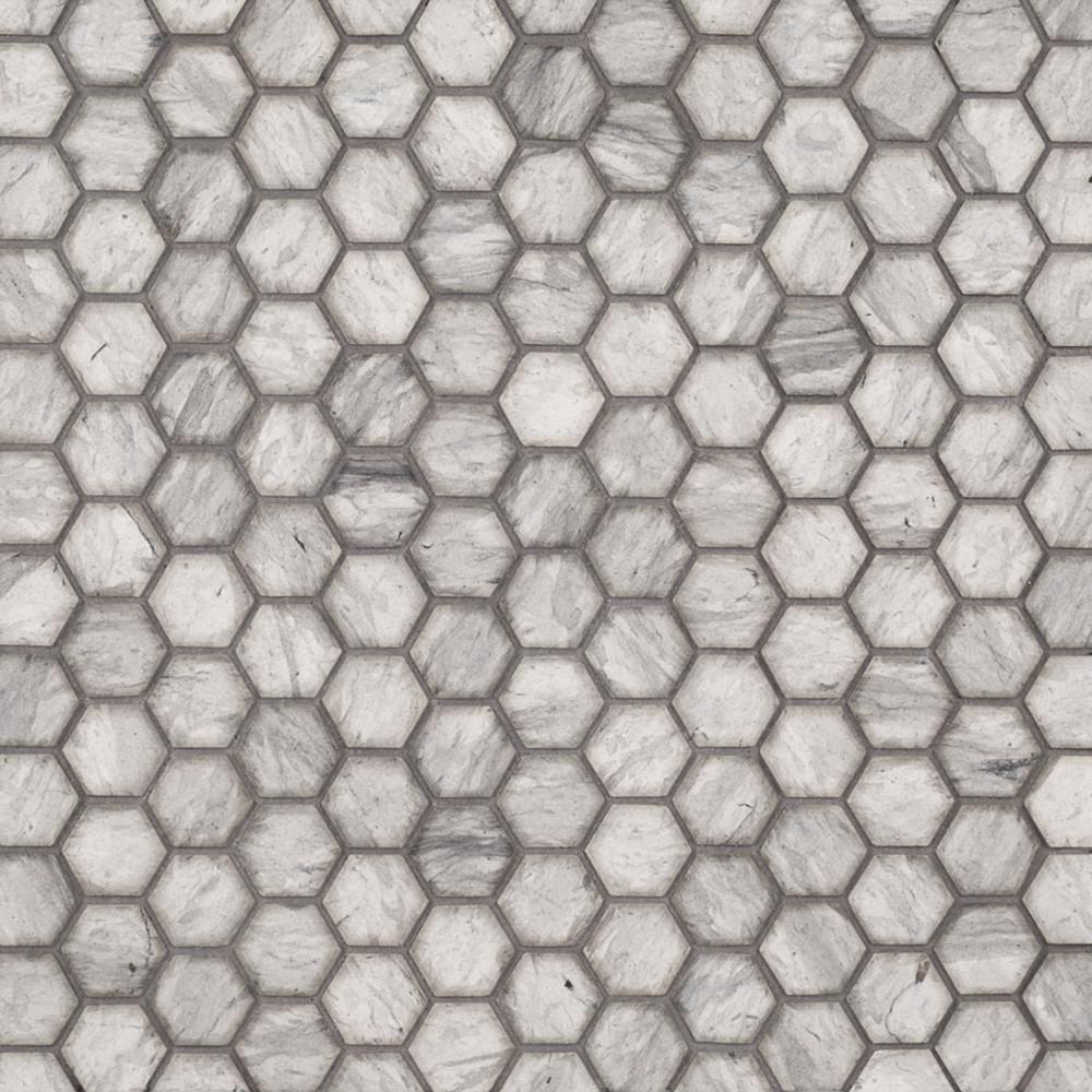 Jeffrey Court 1 Quot Hexagon Mosaic Tunisian Grey Tile