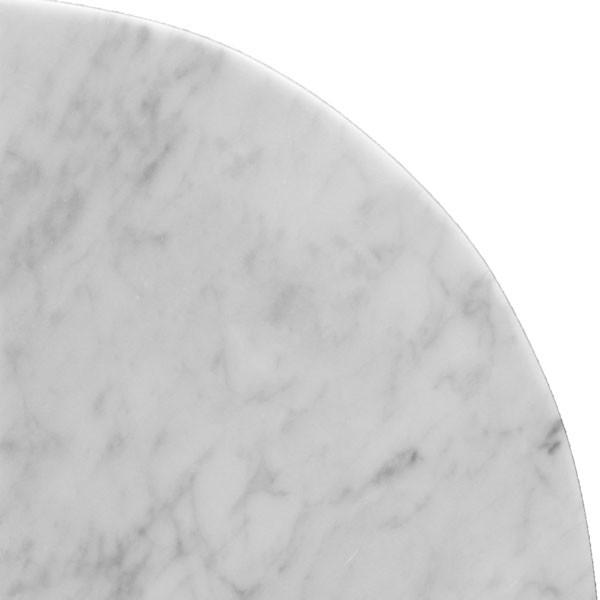Bianco Carrara Corner Shelf