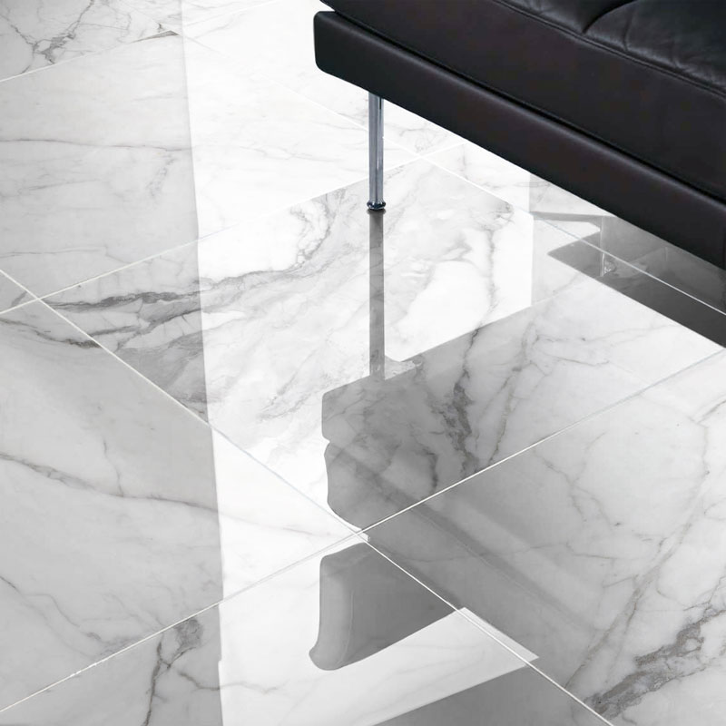 Marble Imitation Statuario Plus Porcelain Tile Series Le Image