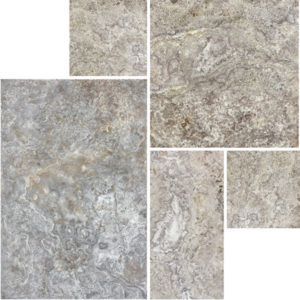 Silver Travertine Cobblestone