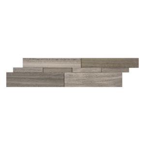 Marble Ledgestone Wooden Grey Cubic