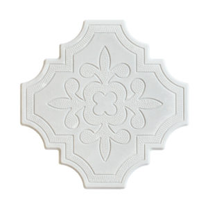Aster White 10x10 Cement Tile