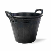 Rubber Buckets and Trash Chutes